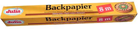 Backpapier Julia