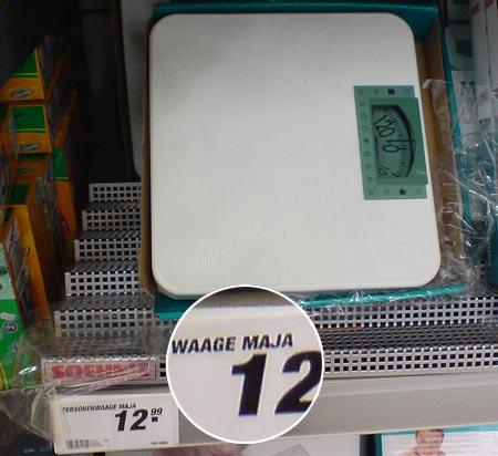 Waage Maja