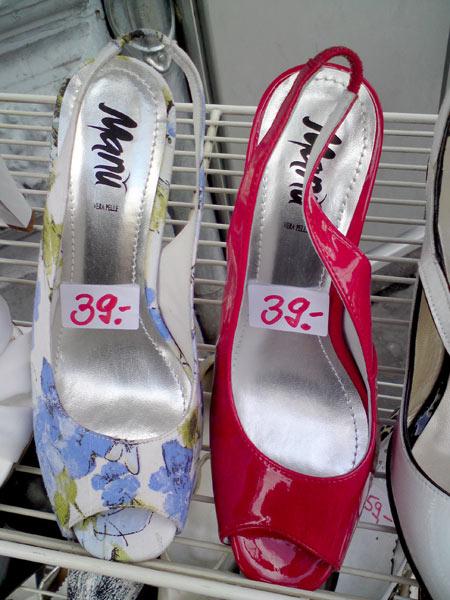 Schuhe Manu