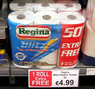 Küchenrolle Regina
