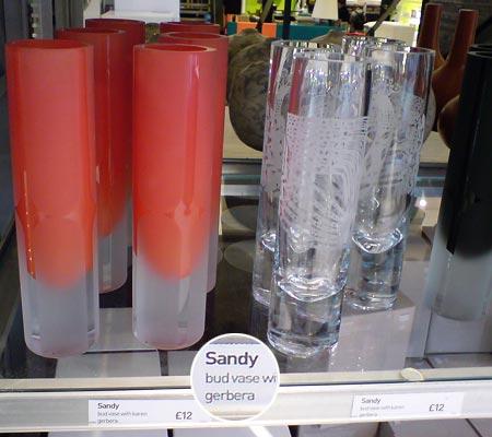 Vase Sandy