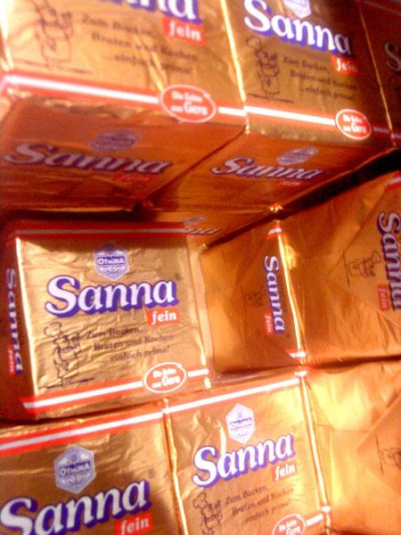 Butter Sanna