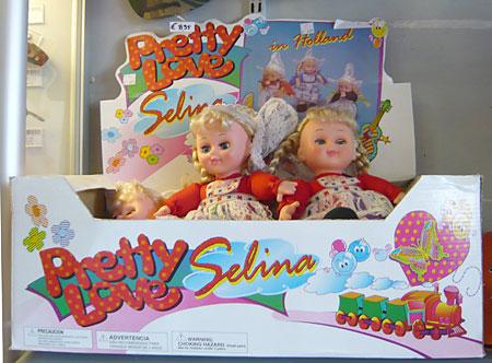 Puppe Selina