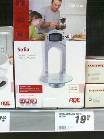 Waage Sofia