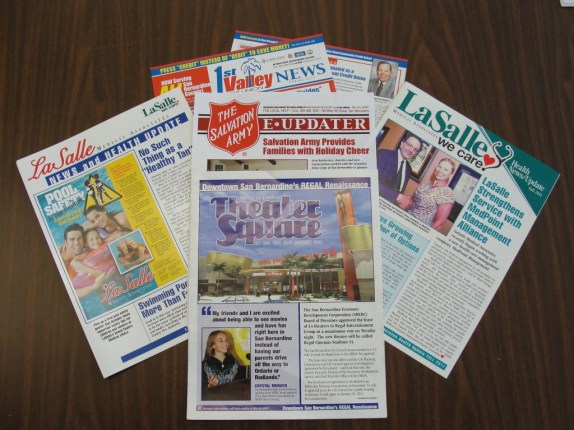 Dameron Communications creates newsletters for colleges, universities, doctors, medical clinics, Non-Profits, government and more.