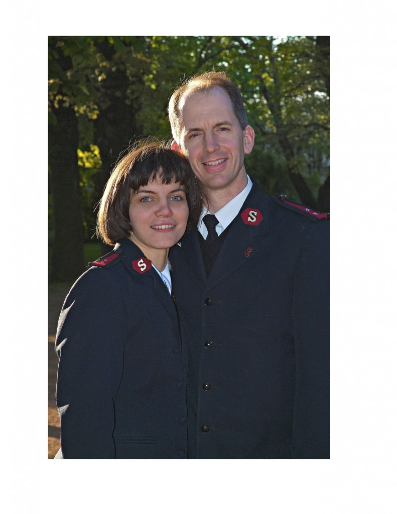 Major Dan and Captain Anya Henderson welcome you to Easter Sunrise Service.