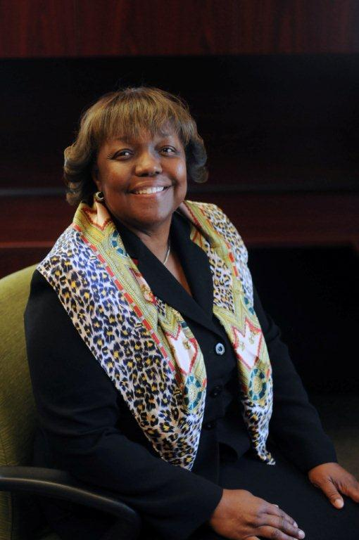 Dr. Judy White, superintendent of the Moreno Valley unified School District