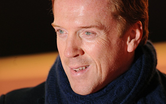 Damian Lewis at the press night for 'The Book of Mormon'