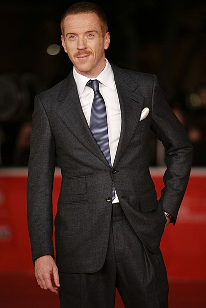 "Damian Lewis arrives for a red carpet event for the movie ""Romeo and Juliet"" at the Rome Film Festival"