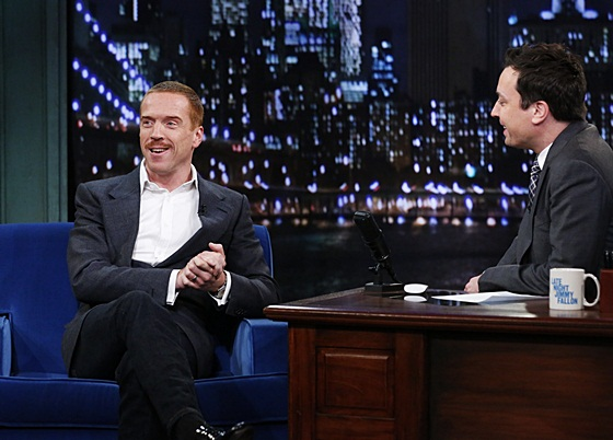 Damian Lewis on Late Night with Jimmy Fallon
