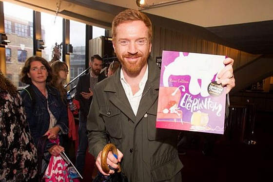 Damian Lewis  attends the after party for the press performance of the Elephantom.