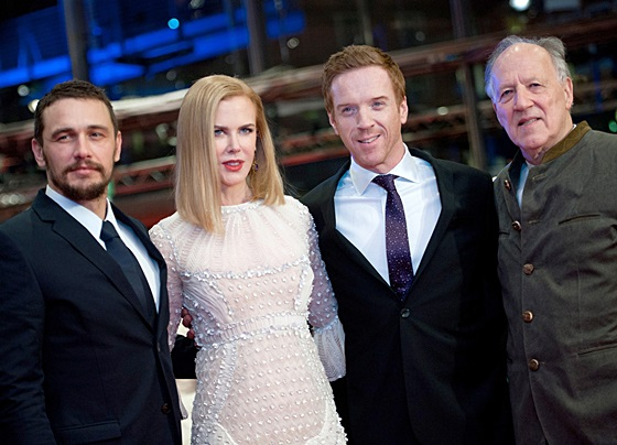 Damian Lewis at the  'Queen of the Desert' premiere during the 65th Berlinale International Film Festival at Berlinale Palace on February 6th