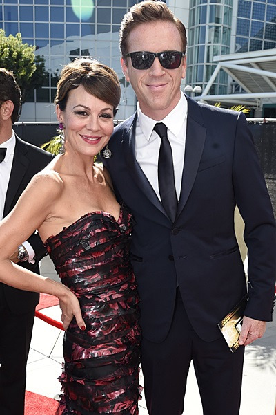 Damian and Helen at the Emmys