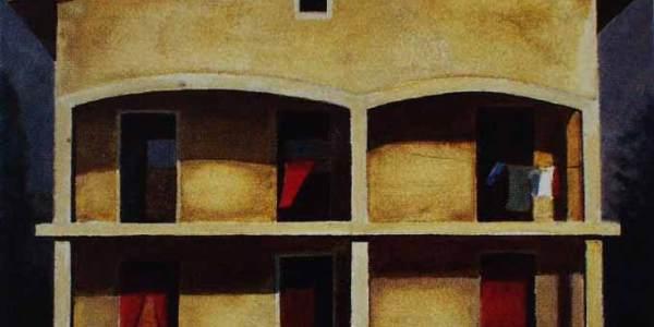 Casa Paola (30 x 40 cms)