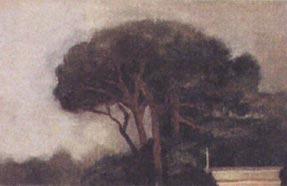 Pinos de Roma. 20 x 30 cm