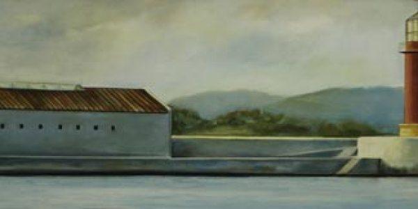 Museo del Mar. Óleo/tela. 40 x 170 cm