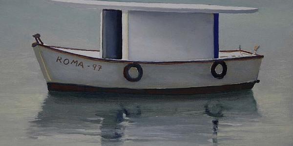Roma 97. Óleo/madera. 20 x 27 cm