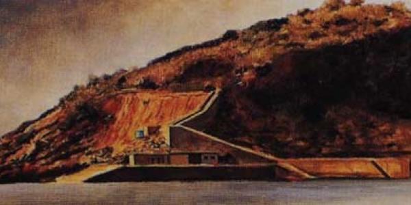 Isla de Santa Clara. 30 x 110 cm