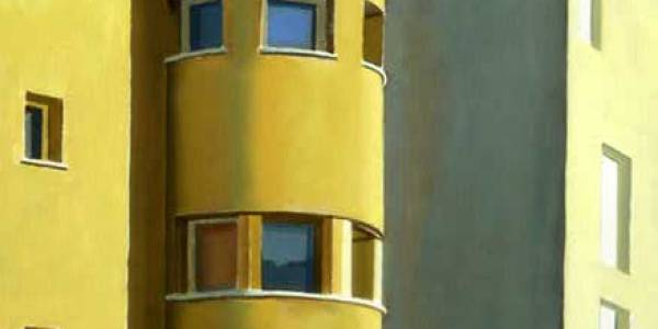 Colonia El Viso. 2005. Óleo sobre tabla. 30 x 30 cm.