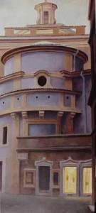 Chiesa in Campo Marzio 153 x 70 cm