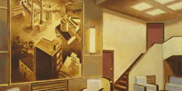 Interior Pizarrita. 2008. Óleo/lienzo. 41×50 cm.