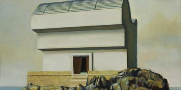 Casa Breuer. Óleo/madera. 40 x 40 cm