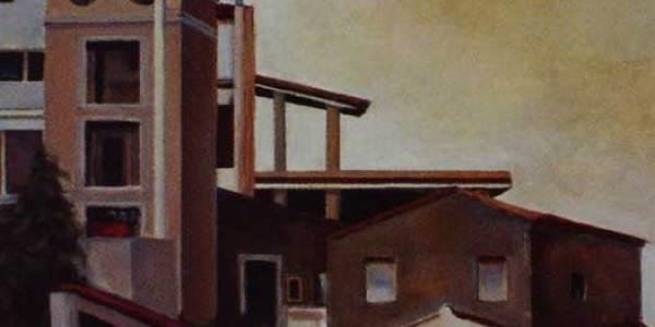 Taormina (40 x 40 cms)