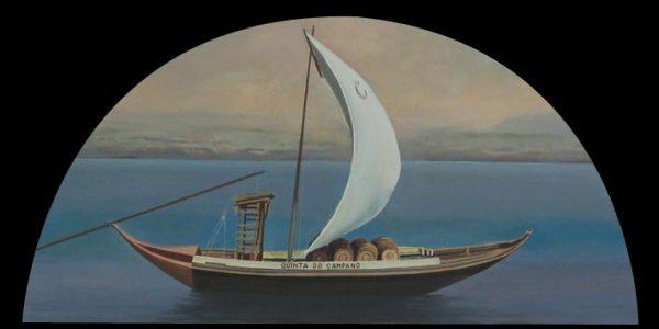 Rabelo de Campano. Óleo/madera. 37×75 cm