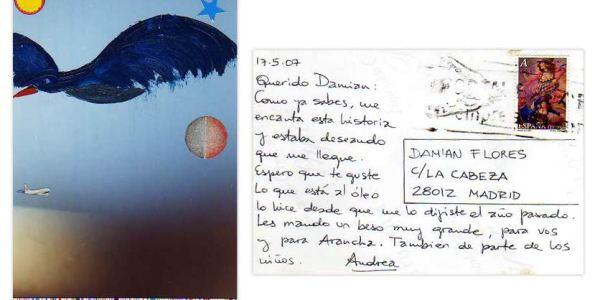 45ª POSTAL RECIBIDA ANDREA BLOISE
