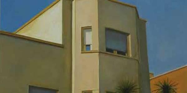 Casa Grijalba. 2008. Óleo/lienzo. 38×50 cm.