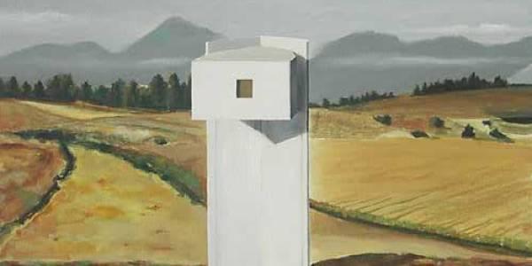 Maison Lequeu. 2003. Óleo sobre madera. 25 x 41 cm