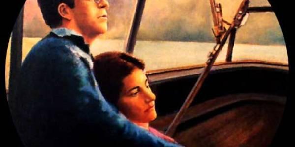 Retrato de Mariano y Andrea. 48 cm diám.