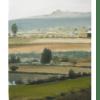 Camino a Hinojosa Damian Flores 2014 Oleo sobre tela 22×18 cms