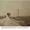 Carretera de Hinojosa Damian Flores Oleo sobre tela 12 x 18 cms