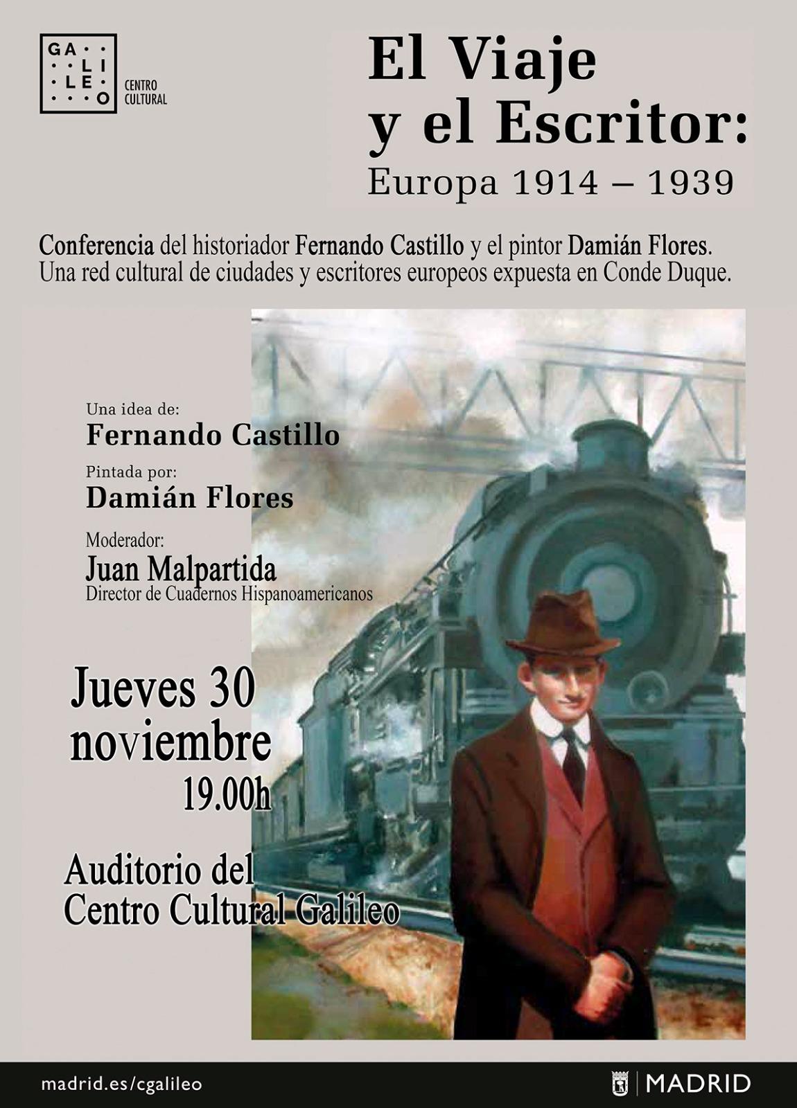 Conferencia de Fernando Castillo y Damián Flores