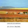 Casa de las monjas Damian Flores 2014 Oleo sobre tela 16 x 24 cms