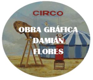 obra gráfica Damián flores