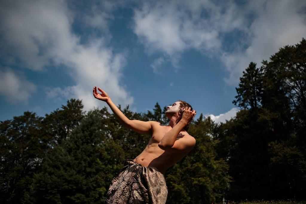 damiano fina danza il tempo degli alberi
