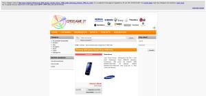 Cache del sito aggiornata al 20 gennaio 2013