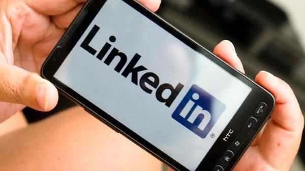 Linkedin su smartphone