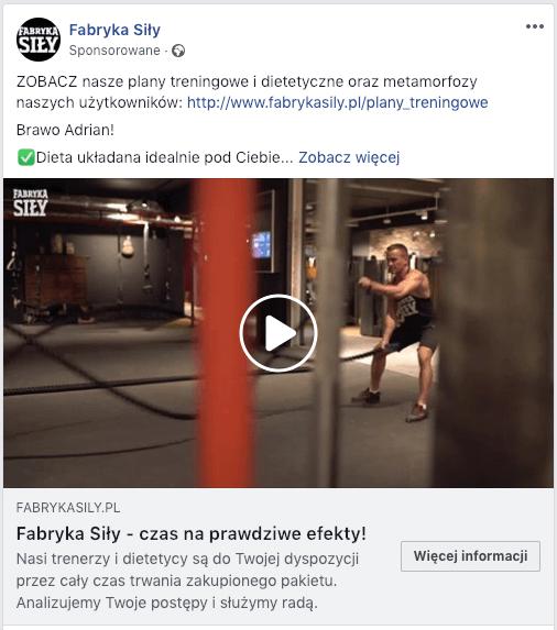 reklama fabryka siły
