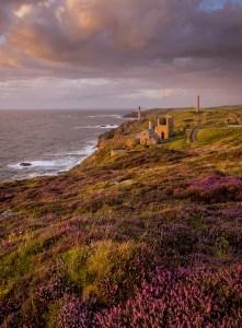 Levant Mine Trewellard, Cornwall. Landscape Photography