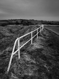 White Fence Brill Buckinghamshire Landscape Photography