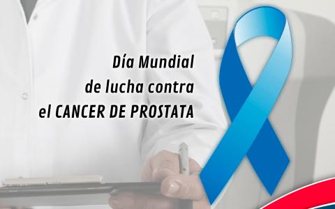Día Mundial de la lucha contra el Cancer de Próstata