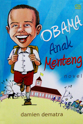 """Book Cover for """"Obama Anak Menteng"""""""