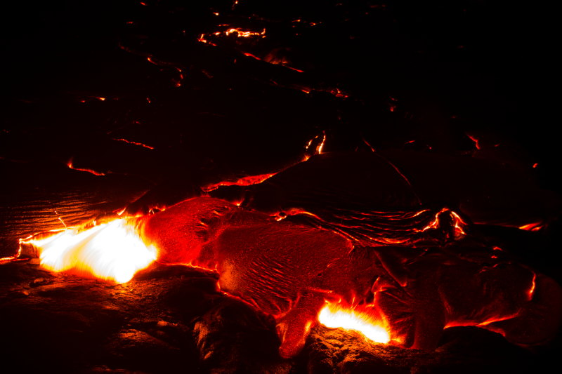guide hawaï (7) DamienLB coulée de lave
