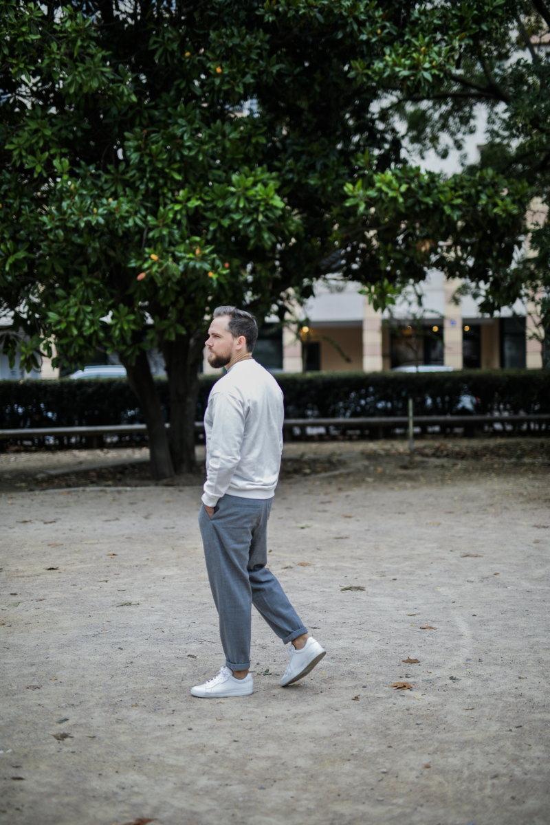 idée look minimaliste sweat ample DamienLB zara cos schmoove