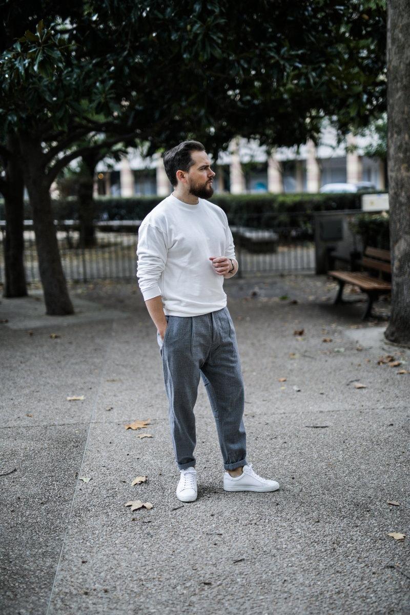 idée look minimaliste sweat ample DamienLB zara