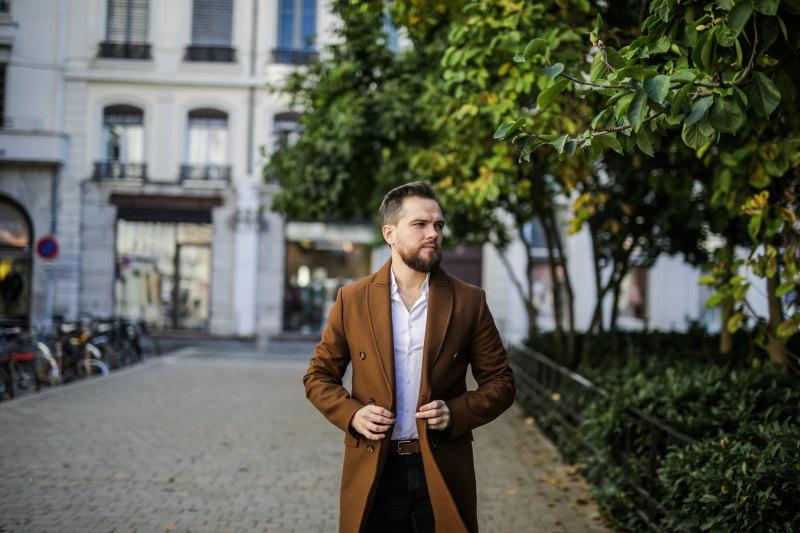 Manteau à boutonnage croisé DamienLB (13) zara
