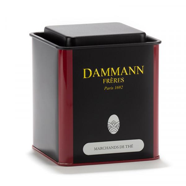 boite dammann freres vide 250g avec l inscription marchands de the